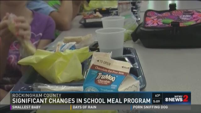 Significant changes are coming to the Rockingham County Schools meal program in February, 2016.