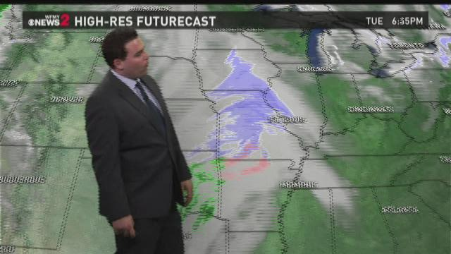 Tim Buckley's Tuesday Afternoon Forecast