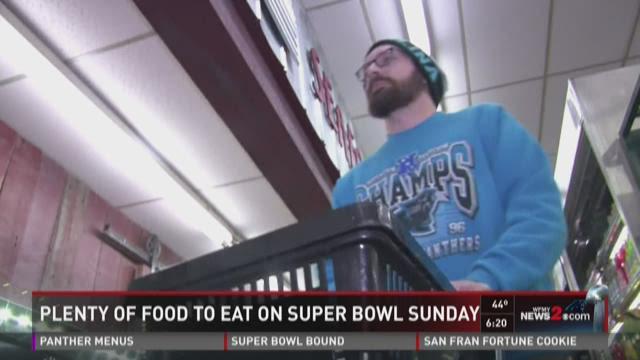 Plenty Of Food To Eat On Super Bowl Sunday