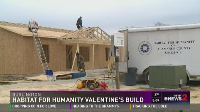 Habitat For Humanity Valentine's Build