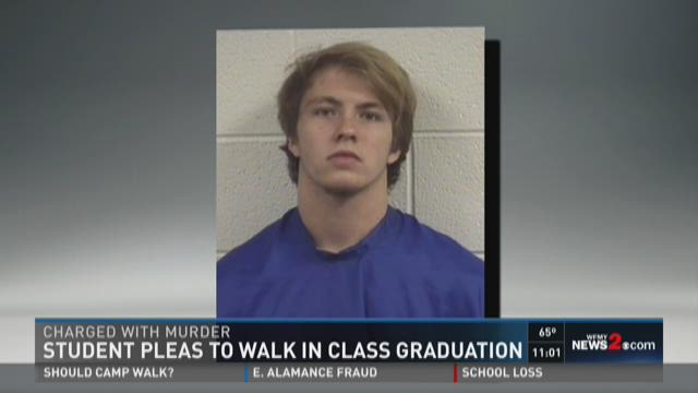 NC Teen Charged With First-Degree Murder Wants To Walk At Graduation