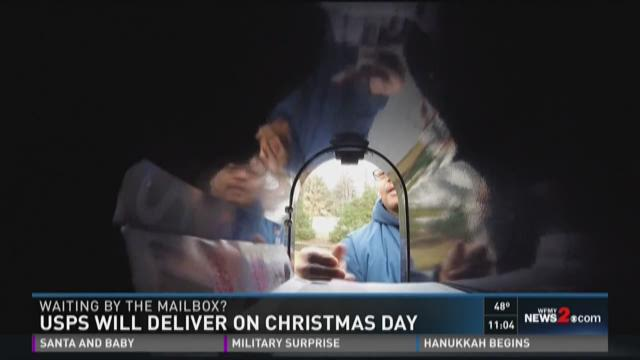 USPS Will Deliver On Christmas Day | WFMYNEWS2.com