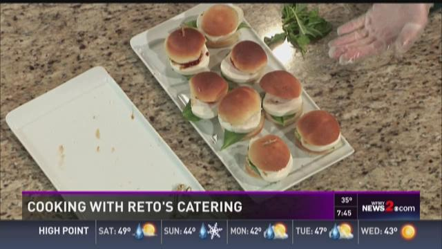 In The Wfmy News 2 Kitchen With Reto 39 S Catering