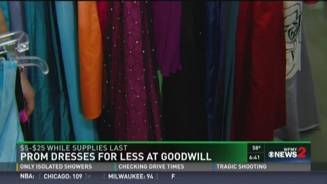 Dresses For Less: Prom Dress Sale At Triad Goodwill | WFMYNEWS2.com