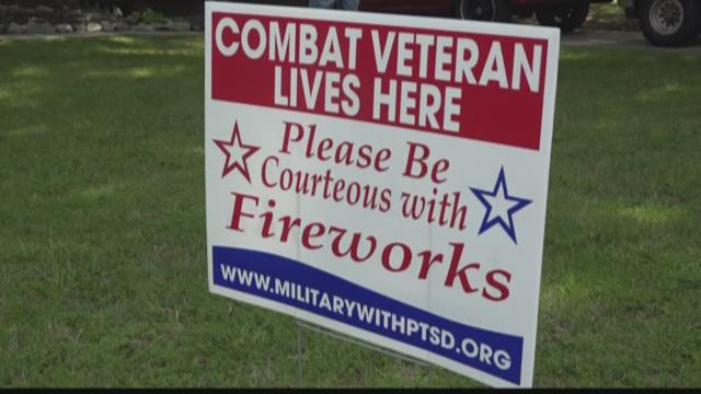 NC Veteran With PTSD Asks For Fireworks Courtesy