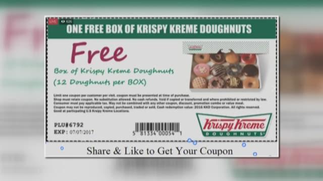 FREE Krispy Kreme Donuts? 2WTK: The Coupon Is A Fake!