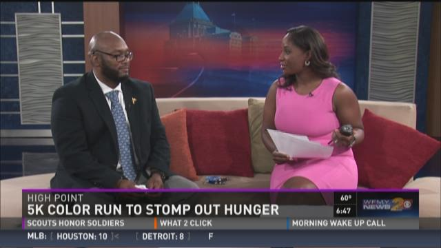 5K Color Run To Stomp Out Hunger