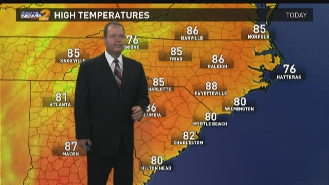 Ed Matthews Midday Weather Update