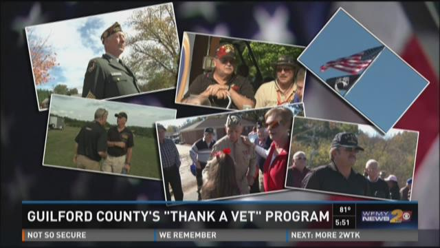 "You can sign up for the ""Thank A Vet"" program at the"