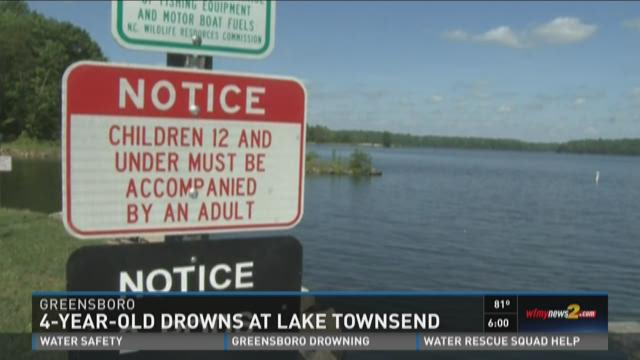 Greensboro police say a four-year-old child drowned