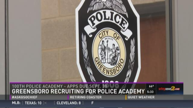 Behind the Scenes: Greensboro Police Academy
