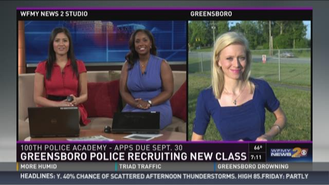 The Greensboro Police Department is recruiting its