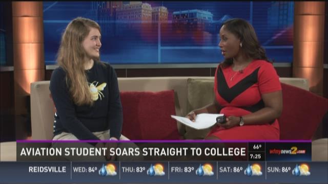 GCS Student Soars High