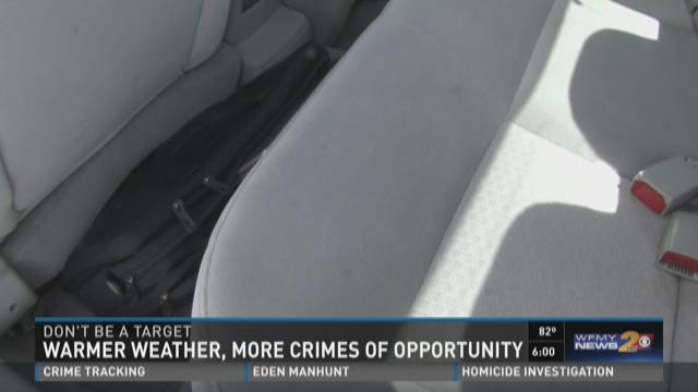 Crimes of Opportunity, Don't Become a Victim