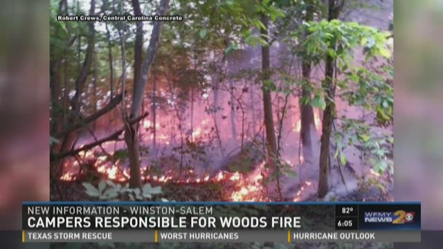 Firefighter Suffers Minor Injuries Battling Woods Fire