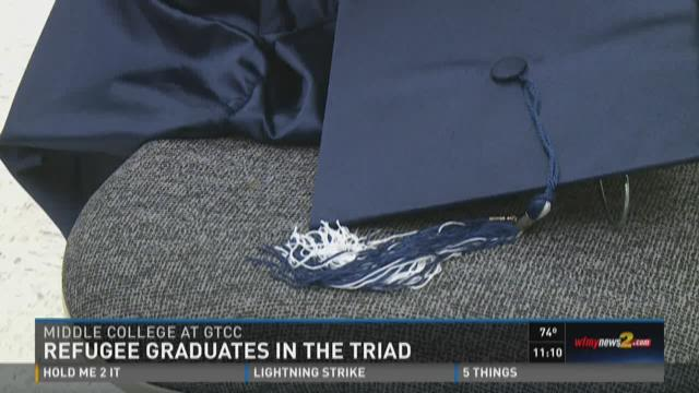 Refugee is First in Family to Graduate