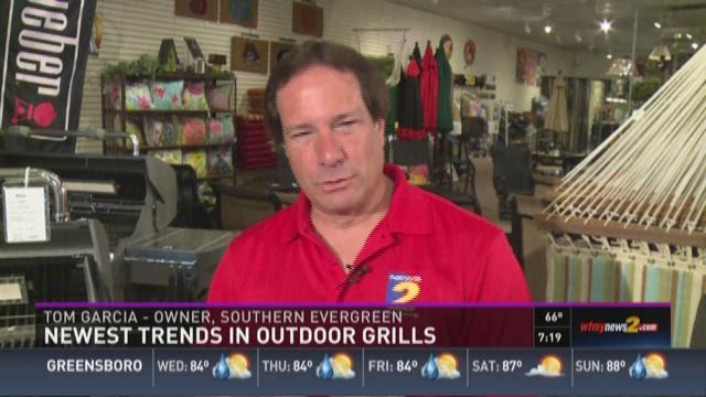 Newest Trends in Outdoor Grills