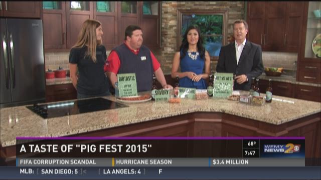 "A Sneak Peek At ""Pig Fest 2015"""