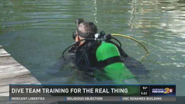 Dive team in Rockingham County