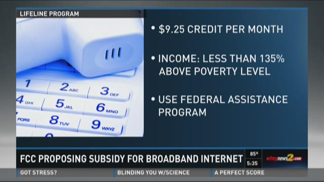 FCC Proposing Internet Subsidy For Low-Income Families