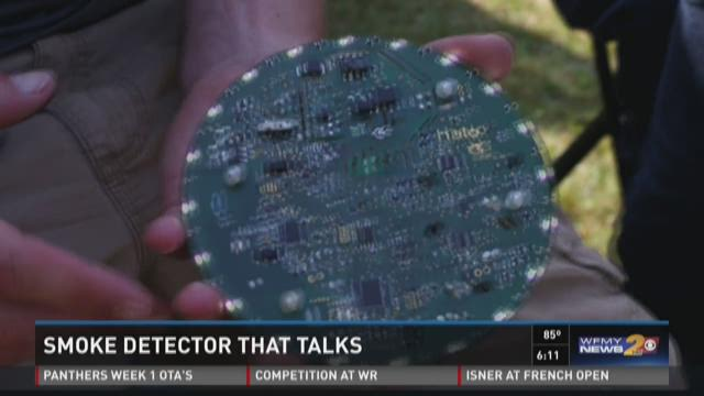 Charlotte Start-Up Company Creates Home Safety Device That Talks