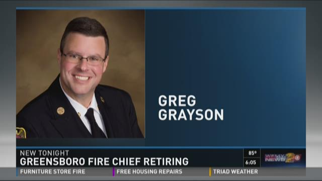 Greensboro Fire Chief to Retire