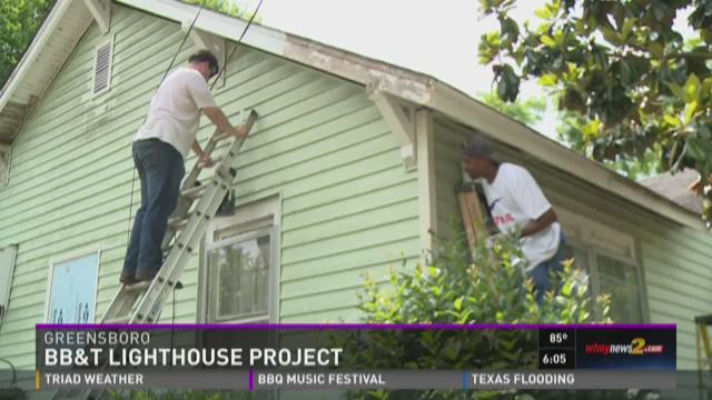 Greensboro Family Receives Free Home Repairs