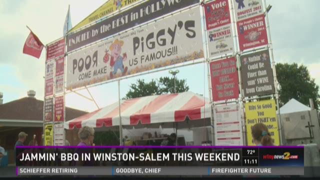 Food & Fun at BBQ Festival In Winston-Salem