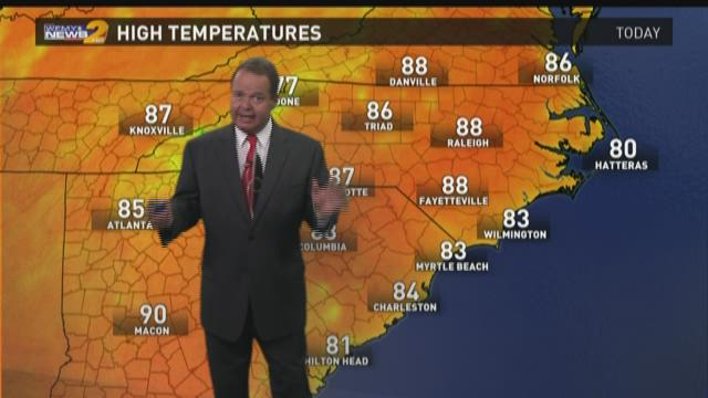 Ed Matthews Morning Weather Update