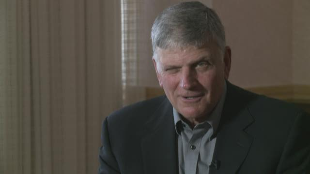 Franklin Graham gives update on how father Billy Graham is doing at 96 1/2
