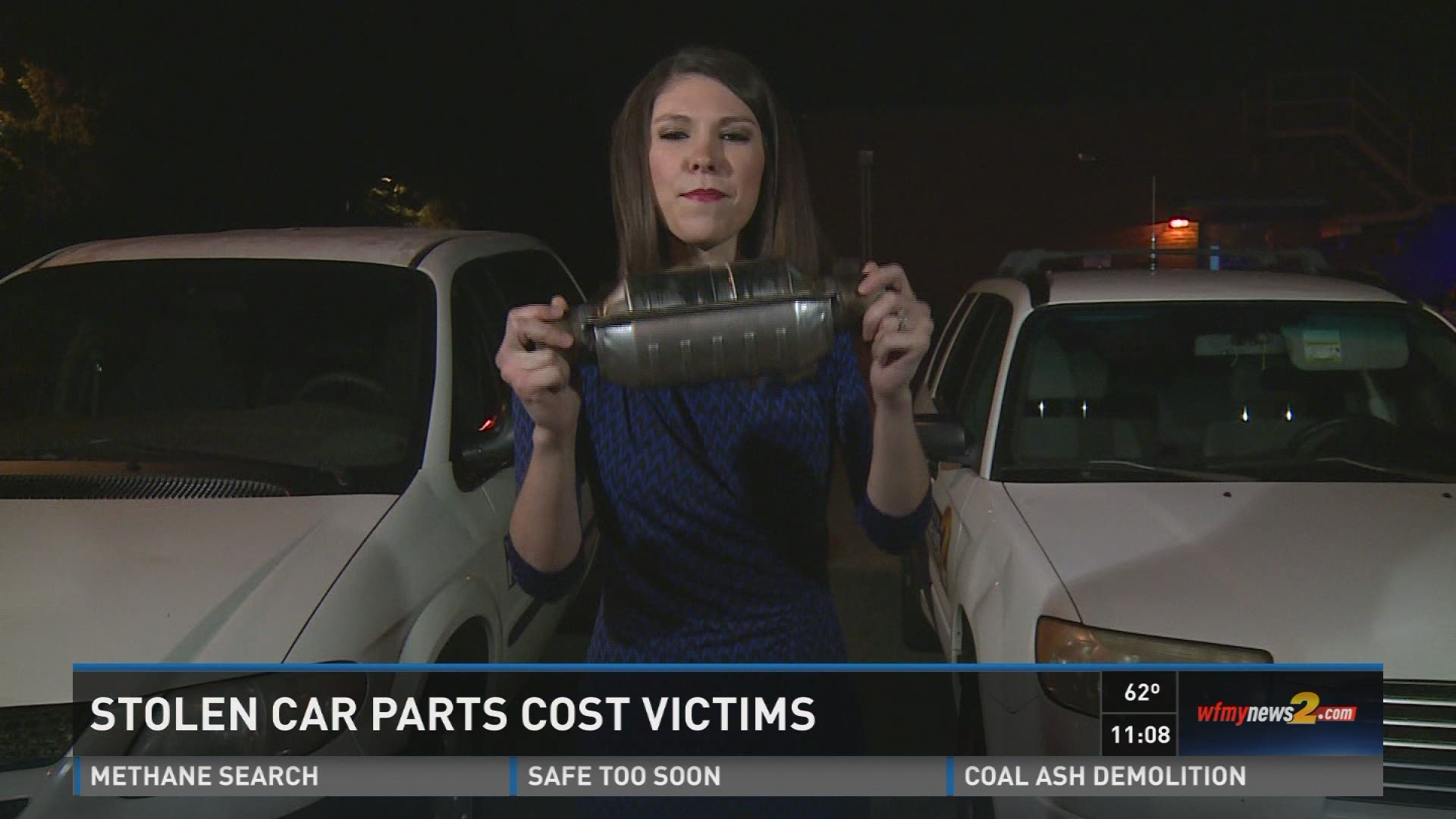 Thieves Steal Catalytic Converters From Alamance Co  Cars