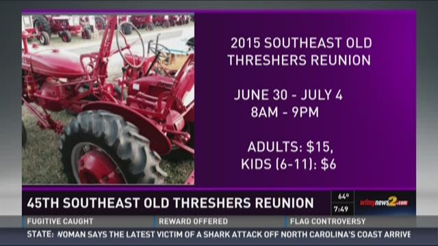 Fun and Farm Equipment At Threshers Reunion