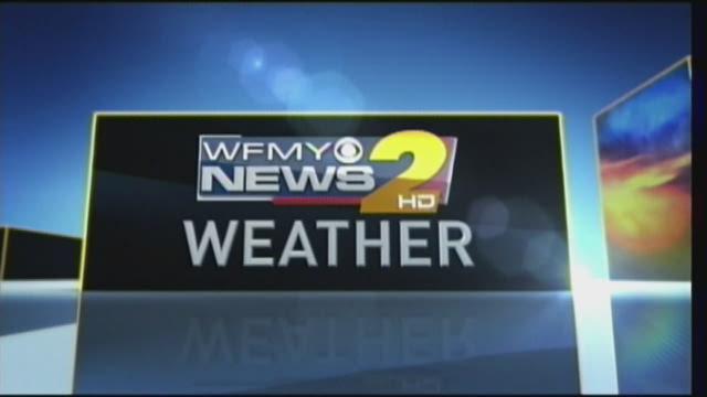 Eric Chilton's Early Monday Morning Weather Forecast