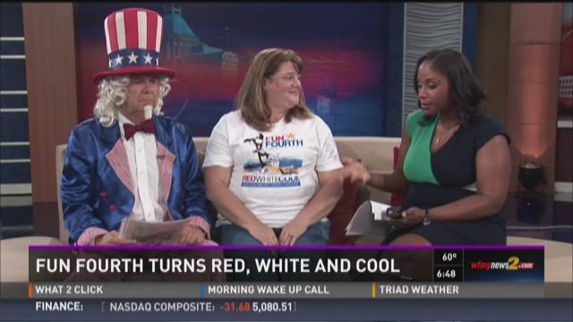 The Fun Fourth Festival Is Red, White And Cool