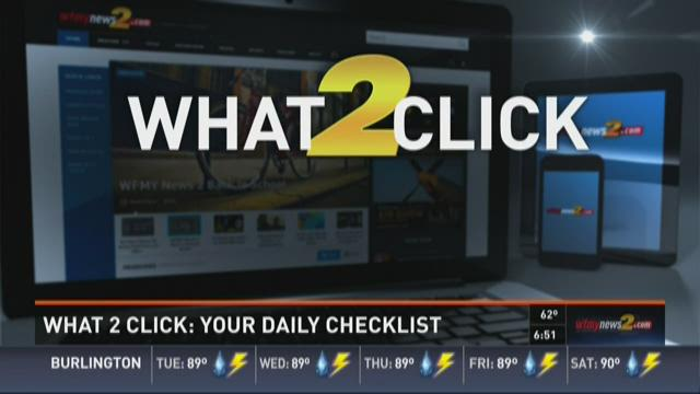 What 2 Click:  June 30, 2015