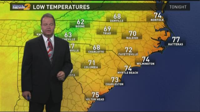 Ed Matthews' Wednesday Afternoon Forecast