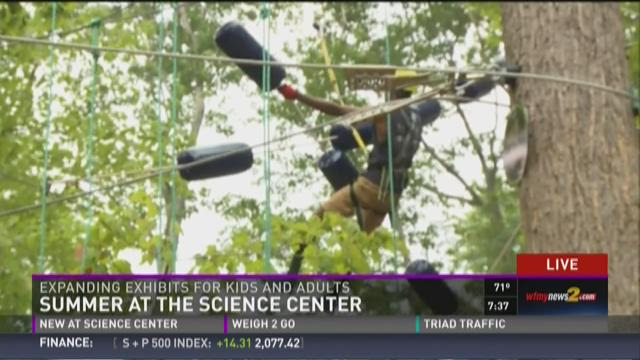 GSO Science Center Opens New Exhibit