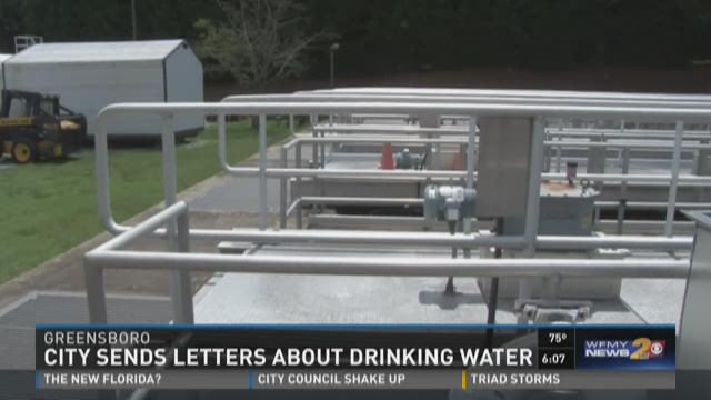City Sends Letter About Drinking Water