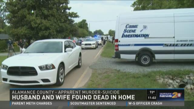 Alamance Co. Couple Found Dead