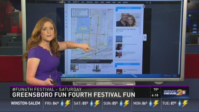Greensboro Fun Fourth Festival Fun