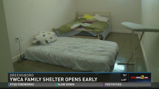 Greensboro YWCA Emergency Family Shelter Opens Early