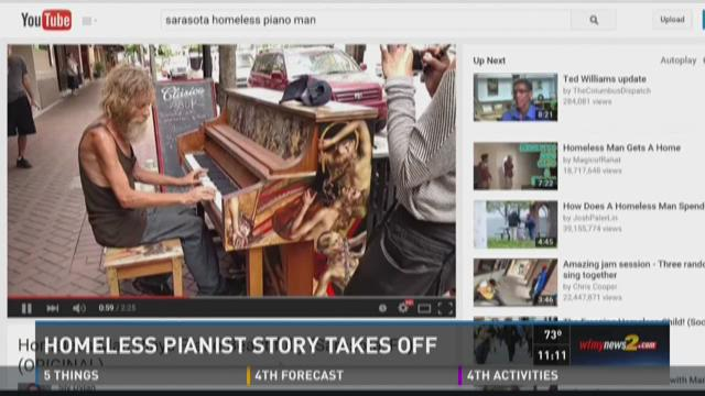 Homeless Piano Man's Story Goes Viral