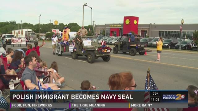 Local retired SEAL came to the U.S. as a political