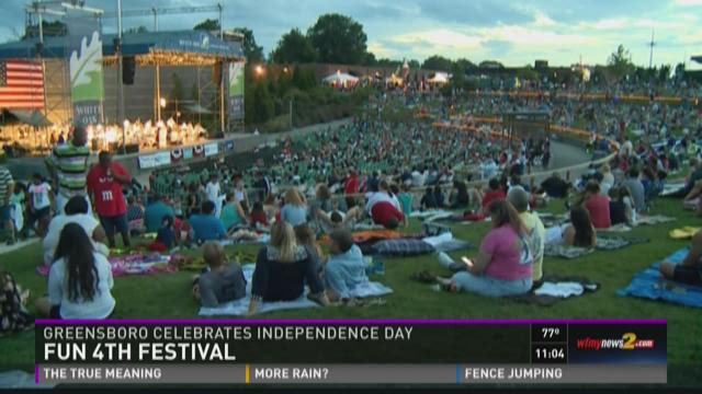 Triad Celebrates July 4th