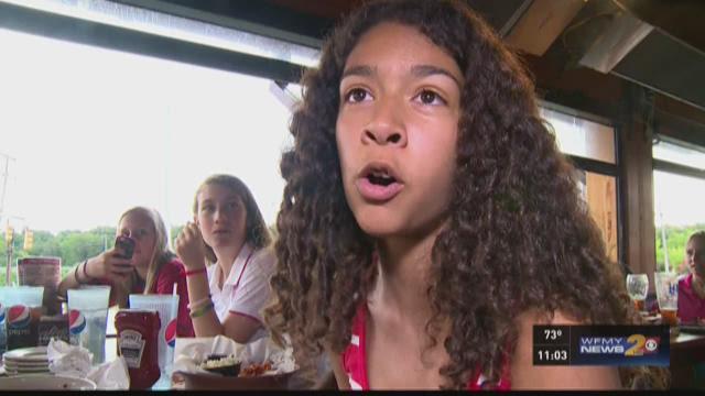 Local Kids React To Team USA's Big Win