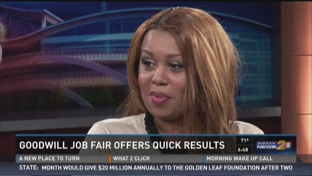 Triad Goodwill Hosting Greensboro Career Fair