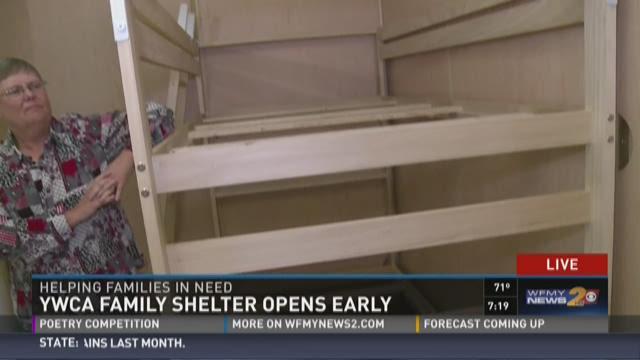 YWCA Family Shelter Opens