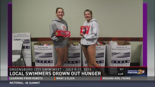 Local Swim Teams Drown Out Hunger One Stroke At A Time