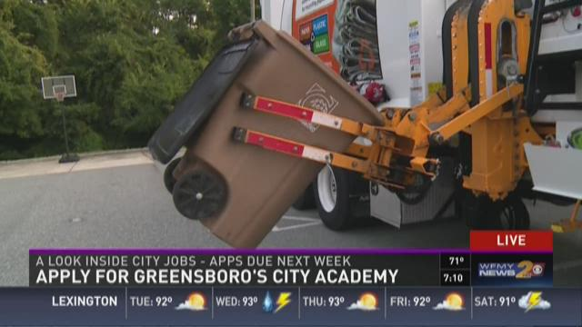 Apply for Greensboro's City Academy
