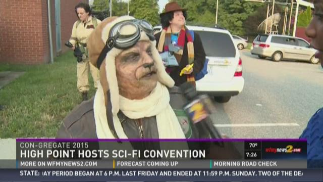Thousands Head To High Point's Sci-Fi Convention